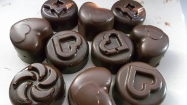 Cokoladove pralinky na detskú oslavu